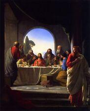 "Jesus Christ The Last Supper Art Print 8""x 10"" Christian Photo 9"