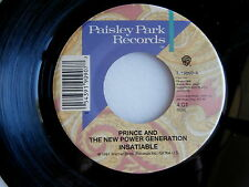 PRINCE ~  INSATIABLE / I LOVE U IN ME ~ UNPLAYED STORE STOCK ~  FUNK  45