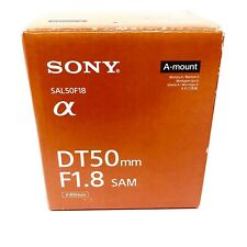 SONY Alpha SAL50F18 DT50mm F1.8 SAM A Mount Lens