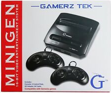 Minigen Gaming Console Works With Sega Genesis Mega Drive Game Video System Gift