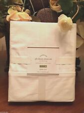 Pottery Barn CLASSIC 400-THREAD-COUNT SHEET SET,  Ivory Size Cal King, W/$159.00