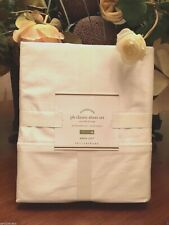 Pottery Barn CLASSIC 400-THREAD-COUNT SHEET SET, White, Size Cal King, W/$159.00