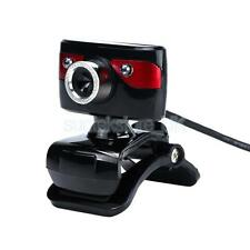 USB 12MP HD Camera Web Cam 360 Degree with Mic Clip-on for Android TV PC