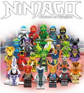 Ninjago Lot Season 11 Custom 24pcs Set