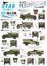 Star Decals 1/35 M3A1 WHITE SCOUT CAR Poland New Zealand South Africa & Britain