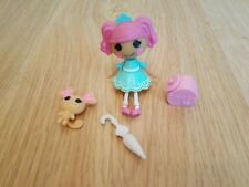 """Mini 3"""" Lalaloopsy Doll - Fancy Frost n Glaze with Pet Mouse, Umbrella & Cookies"""