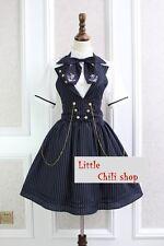 Japan Trendy Kawaii Princess Cute Sweet Dolly Gothic Lolita Sleeveless Dress