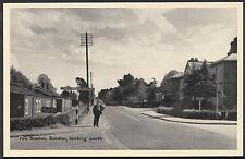 Hampshire Postcard - Fire Station, Bordon, Looking South, Nr Whitehill  MB476