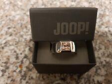 JOOP! Ring PINKFARBENE Stein 925 Sterlingsilber Siegelring Größe 59