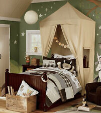 Set of 2 Pottery Barn Kids Twin Bed Tent Canopy