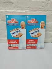 2 PACKS OF Mr. Clean Magic Eraser Extra Durable Scrubber & Cleaning Sponge 8ct.