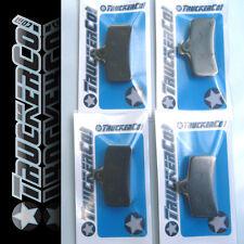 x4  TruckerCo S High Performance Disc Brake Pads shimano Saint 4 piston BR M810