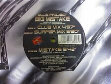 "DISCO 12"" VINILE ELLIS PROJECT - BIG MISTAKE - MIX REMIX DANCE  EX/EX"