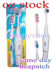 Electric Massage Toothbrush Massager with 3 brush heads set Battery operated