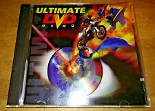 ULTIMATE DVD DEMO ~ 1998 Demo Disc v1.3.2 Unapix Miramar A-Pix Promo ~ DEAD TECH