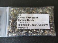 California Sonoma County Arched Rock Beach Sand Sample