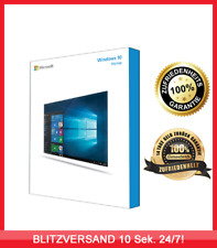 Microsoft Windows 10 Home ✔ 32/64BIT ✔ MS® Windows ✔ 30 sek. VERSAND ✔