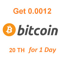 Get Instant 0.0012 BTC . Bitcoin Mining Contract
