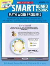 SMART Board Lessons: Math Word Problems: Ready-to-Use, Motivating Lessons on CD