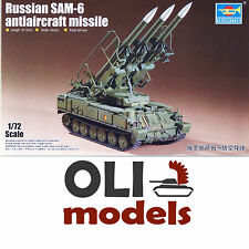 1/72 2K12 KUB Russian Sam-6 SA-6 Anti-Aircraft Missile Launcher  Trumpeter 07109
