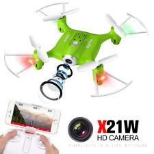 Syma X21W Delicate Mini FPV Mobile App Control Quadcopter with 720p Wi-Fi Camera - White