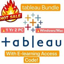 Tableau Desktop Professional 2020 Edition Prep 1 Year 2 PC Digital License Key🔑