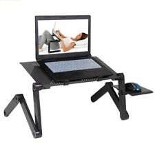portable Bed TV Desk Laptop Adjustable Aluminum Computer Table Stand Mouse Pad