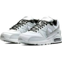 Uomo Scarpe Nike Air Max Command Bianche in Pelle e Tela Sportive Sneakers