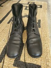Guidi black combat boots size 43 EUR 9/9.5 US Cordovan Lace up