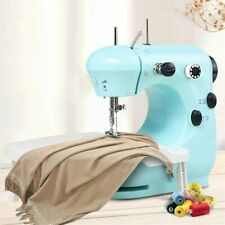 Portable Electric Sewing Machine Desktop Household Tailor Foot Pedal with Light