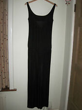 MISS SIXTY 60 LUXURY SLINKY JUMPSUIT PANTS SUIT LOW BACK MEDIUM 10-12