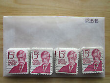 # 1288 x 100 Used US Stamps Lot  Oliver Wendell Holmes Issue  See our other lots