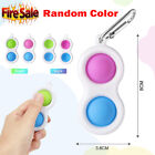 Simple Baby Dimple Sensory Fidget Toy Silicone Flipping Board Kids Adult Gift