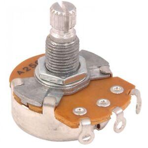 Guitar Tech Tone Pot 250k - Spline grip - 18mm Shaft GT932
