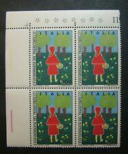 2000 Italien Vierzeiler Welt Bogenschießen 1500 Livre Mnh Italien & Kolonien