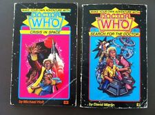 2 X Make Your Own Adventure Doctor. Who Crisis In Space Search For The Doctor