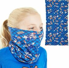 Sonic The Hedgehog Face Covering, Neck Gaiter For Children, Washable Snood Scarf