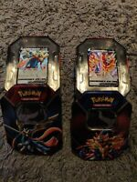 Pokemon Zacian V & Zamazenta V Collectors Tin | Bundle |  TCG Cards