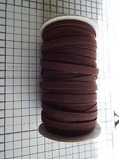 3 M-Marrone, piatto, elastico-Larghezza - 7 mm