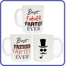 Fathers Day Best Father Farter Ever! Coffee Mug Perfect Gift Present for Dad