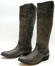WOMENS FRYE CARSON 77204 TALL GREEN LEATHER COWBOY WESTERN RIDING BOOTS 9 B 9B