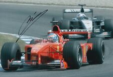Mika Salo Hand Signed 12x8 Photo Scuderia Ferrari F1 2.