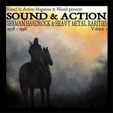 Metal CD Sound And Action ? Rare German Metal Vol.1 von Various Artists 2CDs