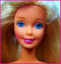 Nude Superstar Barbie Blond Highlighted Hair TNT Body Blue Eyes & Pink Lip CLEAN
