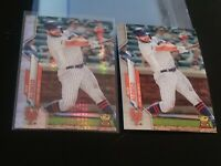 2020 Topps Chrome Xfractor and base PETE ALONSO Rookie Cup card LOT PSA ready