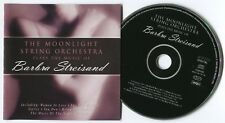 [BEE GEES] MOONLIGHT STRING ORCHESTRA~PLAYS BARBRA STREISAND~1999 UK 14-TRACK CD