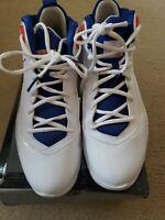 NIKE Air Jordan Melo M8 Basketball Shoes Men's 11 NY Knicks Colorway 469786-106