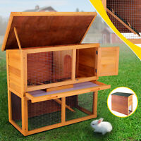 36'' Chicken Coop Waterproof Rabbit Hutch Wood Pet Run House Poultry Animal Cage