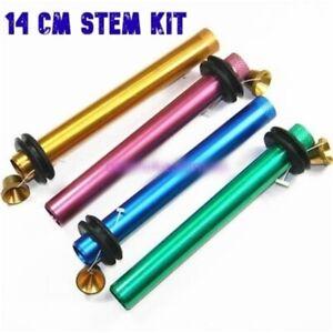 Color Metal Bonza Stem Kit 14cm Random Colour Metal Cone Piece Rubber Ring