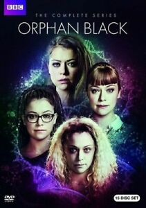 ORPHAN BLACK: COMPLETE SERIES NEW DVD